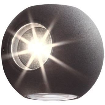 AEG Gus Außenwandleuchte LED Anthrazit, 4-flammig