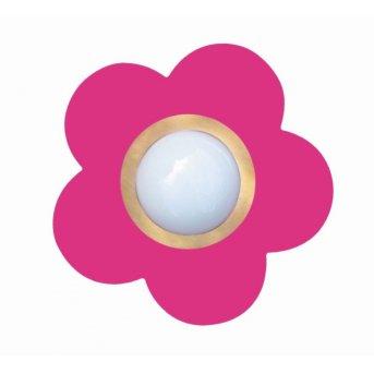 Waldi Deckenleuchte Fleur petit Pink, 1-flammig