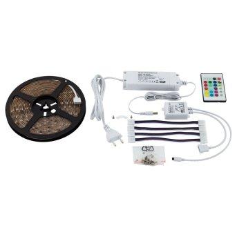 Eglo LED STRIPES-FLEX Leuchtband Transparent, Klar, 1-flammig, Fernbedienung, Farbwechsler