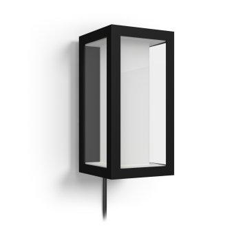 Philips Hue Ambiance White & Color Impress Wandleuchte Erweiterung LED Schwarz, 2-flammig