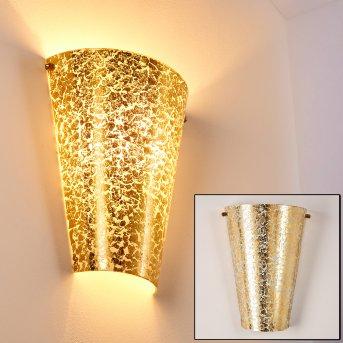 Zera Wandleuchte Gold, 1-flammig