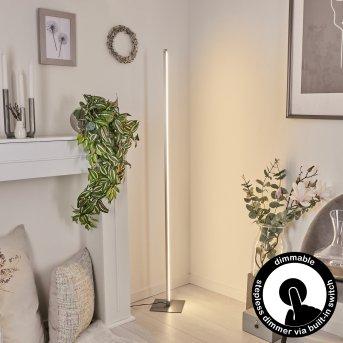 Soyo Stehleuchte LED Nickel-Matt, 1-flammig