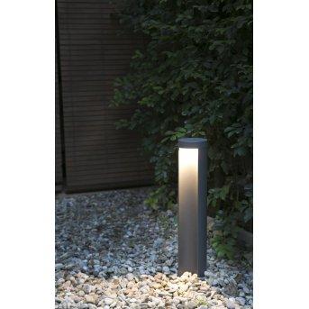 Faro Barcelona Chandra Sockelleuchte LED Anthrazit, 1-flammig