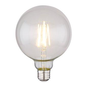 Globo LED Leuchtmittel LED LEUCHTMITTEL METALL SILBERFARBEN, 1XE27 LED