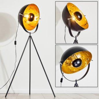 Saturn Stehlampe Schwarz, 1-flammig