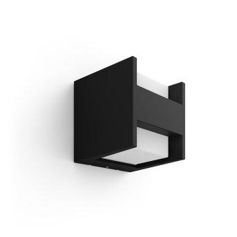 Philips Hue White Fuzo Wandleuchte LED Schwarz, 1-flammig