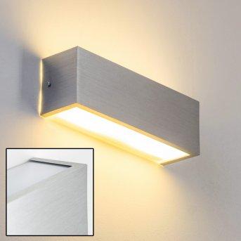 Olbia Wandleuchte LED Aluminium, 1-flammig