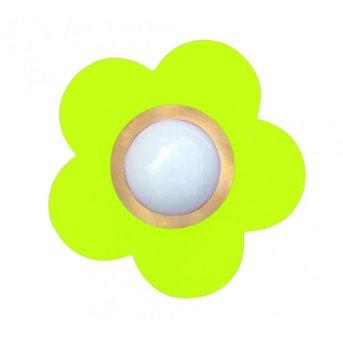 Waldi Deckenleuchte Fleur petit Grün, 1-flammig